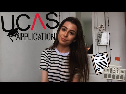 sending off my UCAS APPLICATION 2018 // DITL SIXTH FORM VLOG | HelloAmyy