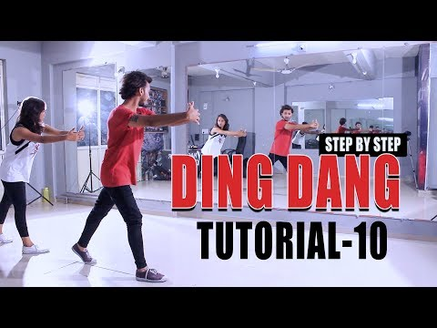 Ding Dang Dance Tutorial Video Vicky Patel Choreography | Step By Step Performance | Munna Micheal