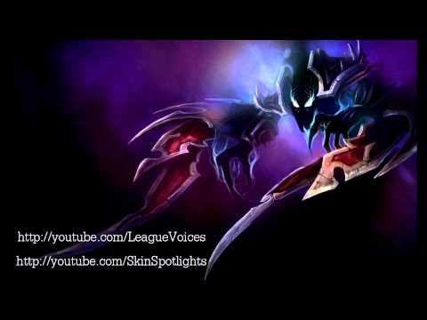 녹턴 (Nocturne) Voice - 한국어 (Korean) - League of Legends