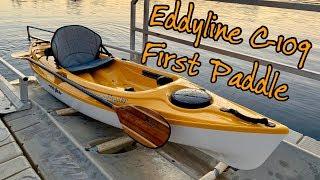 Eddyline Caribbean 109 First Paddle/ Sunset Paddle Challenge