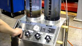 Engine oil flushing and perfomance cleaning (ENG version)