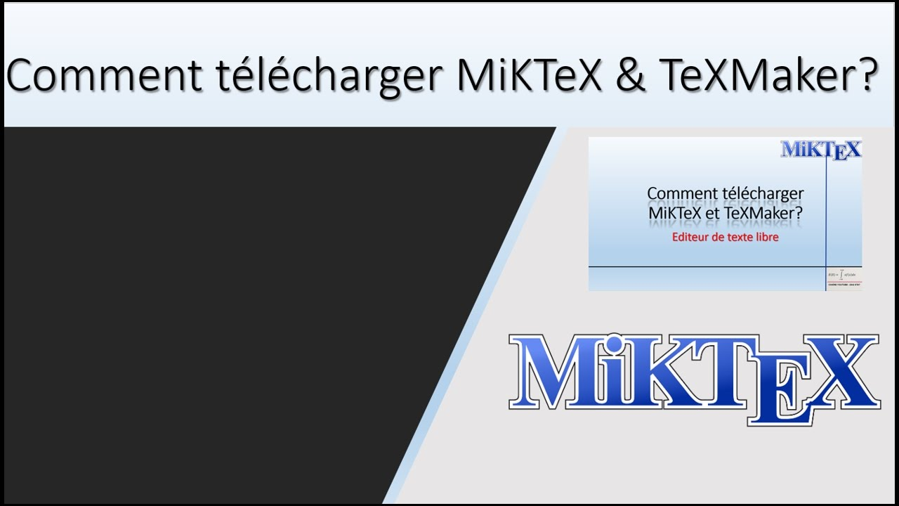 miktex pour windows 7