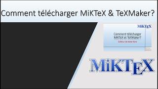 how_to6| Comment télécharger MiKTeX et TeXMaker? | Éditeur de texte gratuit