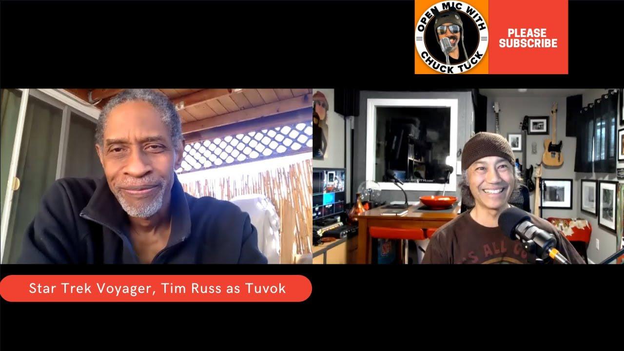 Download Star Trek Voyager 20th Anniversary Interview With Actor Tim Russ, Tuvok