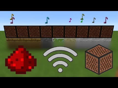 Tutorial: How To Make Wireless Note Block Songs In Minecraft