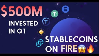 $500 MILLION IN CRYPTO BOUGHT IN Q1 |  STABLECOIN CLIENTS EXPLODE UP 720%!!