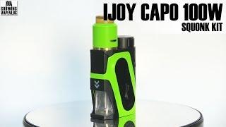Elektronická cigareta / Squonk Kit - IJOY CAPO 100W - Recenze (CZ)