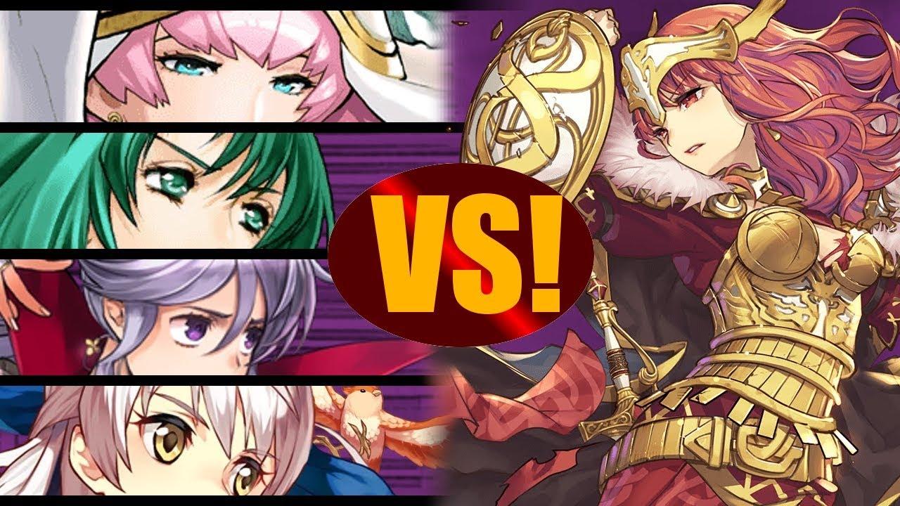 Fire Emblem Heroes | Alfonse Emblem VS Alm LHB Abyssal