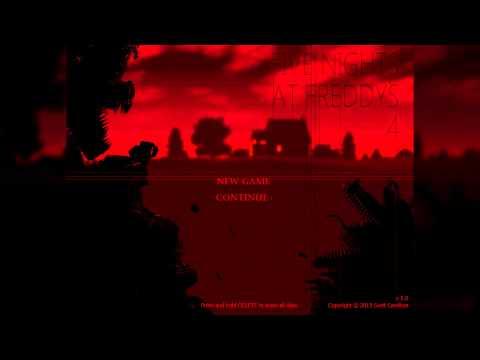 Five Nights at Freddy's 4 - Menu theme