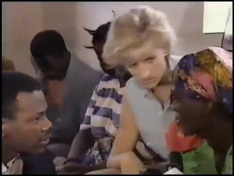 Princess Diana in Angola (1997) - Princess Diana's Landmine Program
