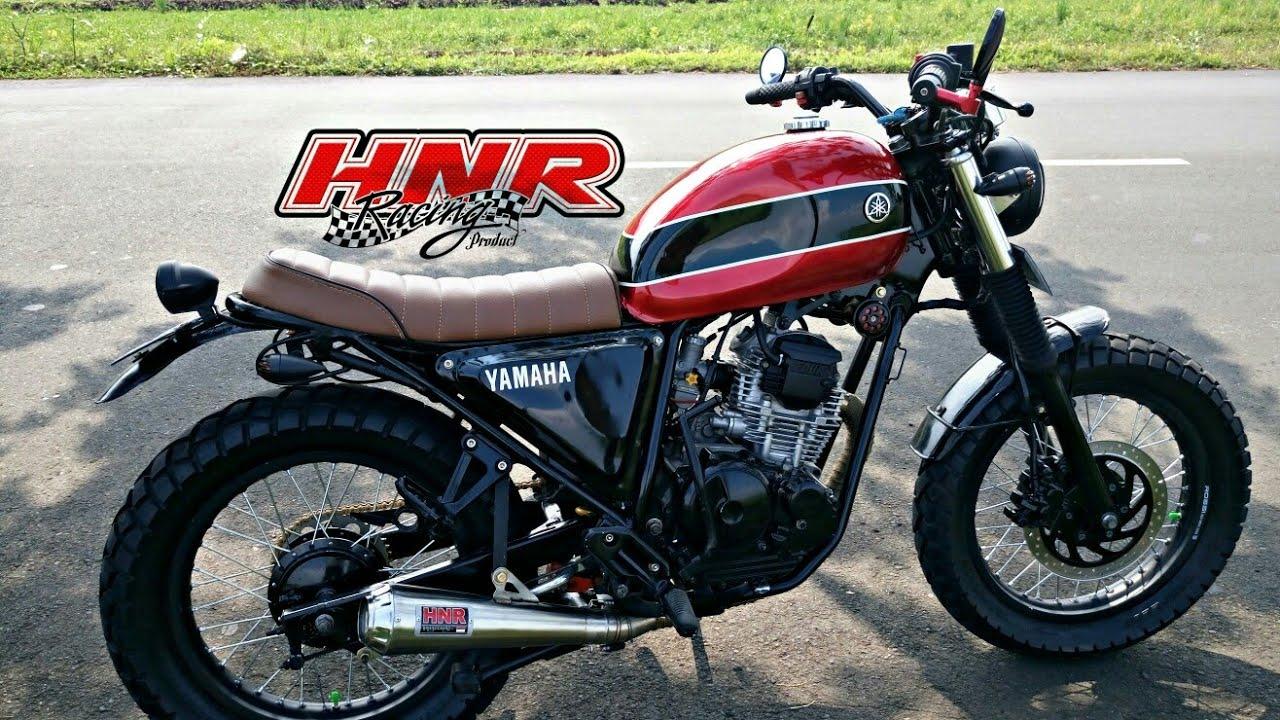 Modifikasi Scramble Rasa Yamaha Scorpio Z
