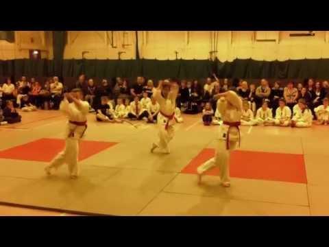 Karate Jutsu Kai Girls Kata Demonstration
