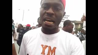 VIDEOS FROM THE NATIONWIDE PROTEST, LAGOS, NIGERIA 2