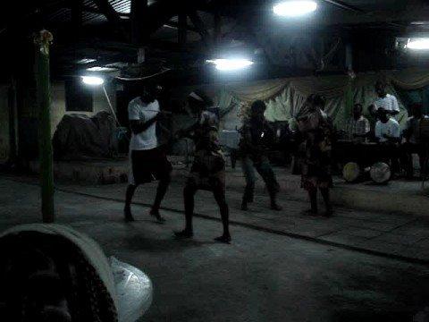 Ghana Cultural Ballet dancin Gazo