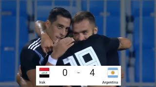 Irak vs Argentina 0 - 4 All goals & highlights
