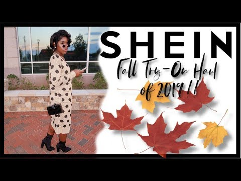 FALL TRY ON HAUL WITH SHEIN 2019 | HIGHLY REQUESTED | iDESIGN8