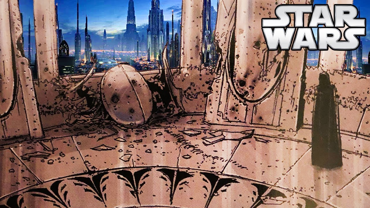 Images Of Youngling Room And Jedi Temple After Order 66 Never Before Seen Star Wars Youtube