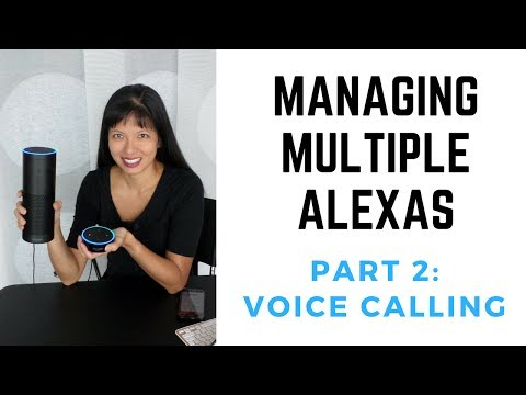 Managing Multiple Amazon Echos Part 2: Voice Calling and Notifications Mp3