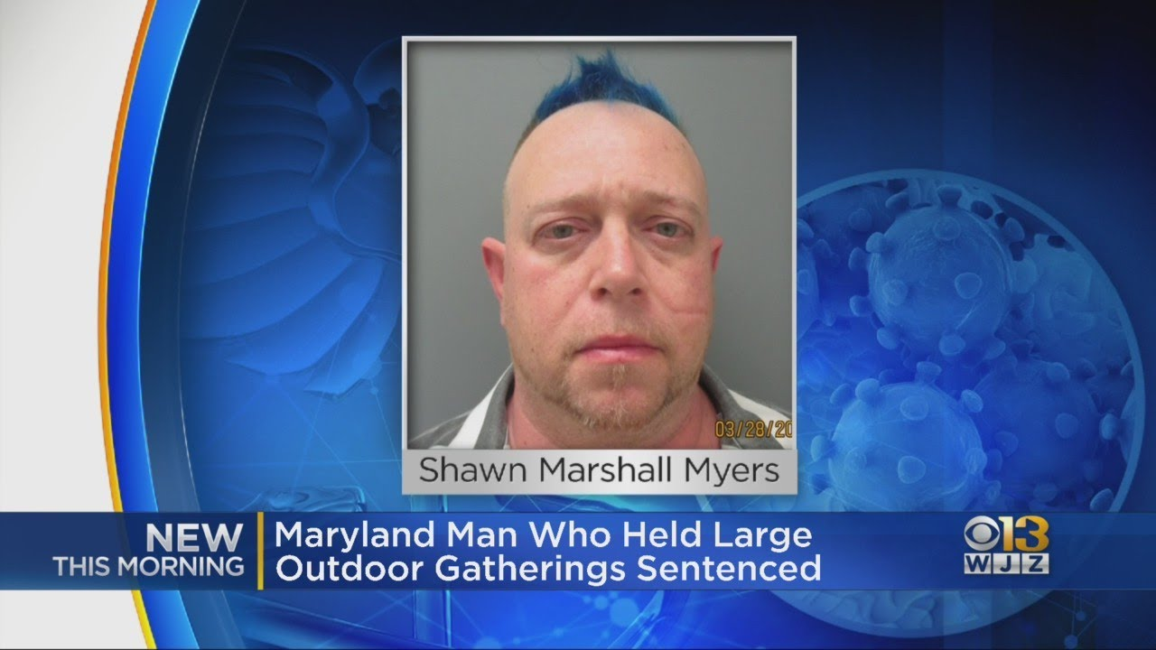 COVID-1984 EXTREME TYRANNY ALERT! Maryland man sentenced to ONE YEAR in prison for throwing 2 outdoor parties at his home (cnn.com)