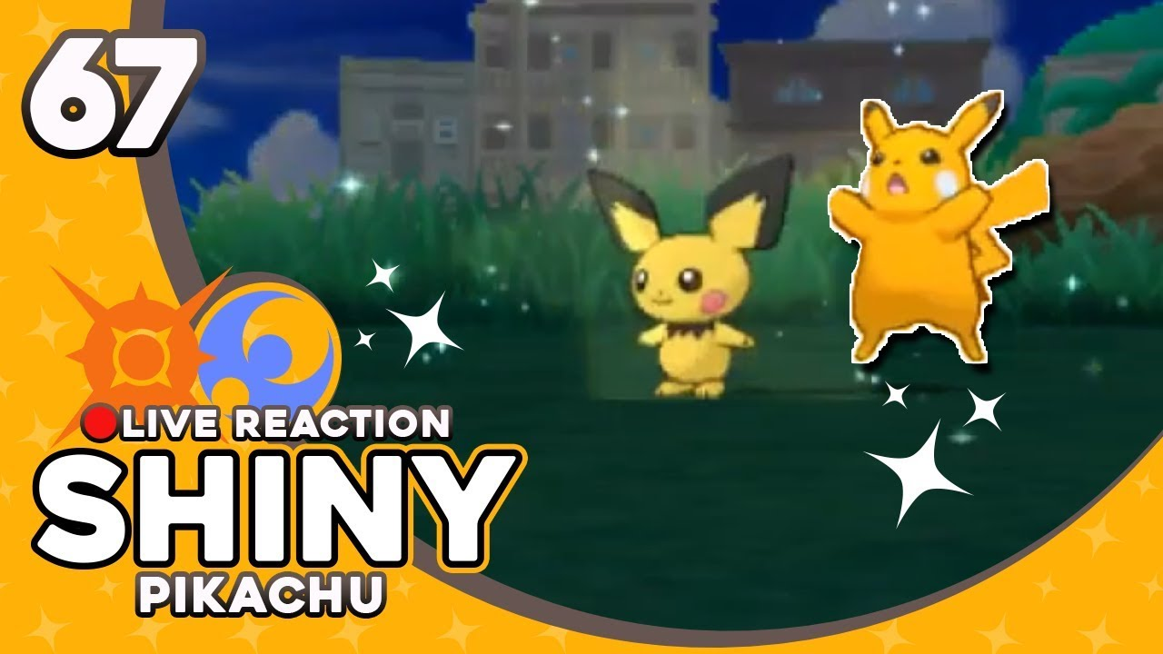 WELL ABOUT TIME, PIKACHU! SHINY PIKACHU! | Pokemon Sun and ...