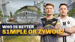 CS:GO Pro's Answer: Who is better s1mple or ZywOo?