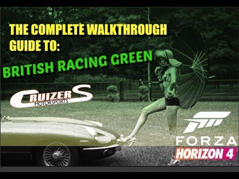 Complete Guide To British Racing Green Horizon 4 (3 Stars)