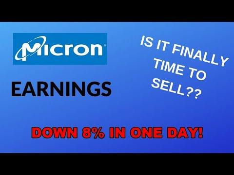 Micron Q1 Earnings Report | IS NOW THE TIME TO SELL?