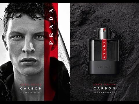 Prada Luna Rossa Carbon NEW Fragrance 2017
