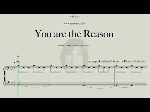 You are the Reason - YouTube