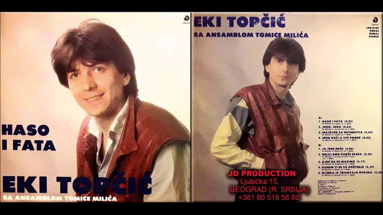 Ekrem Topicic Eki i Ansambl Tomice MIlica - Delili smo parce hleba - (Audio 1985)