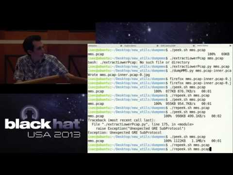 BlackHat 2013 - Traffic Interception & Remote Mobile Phone Cloning with a Compromised CDMA Femtocel