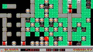 Supaplex: Original Levels: Level 101: On-Off!