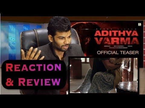 aditya-varma-trailer-reaction- -dhruv-vikram- -gireesaaya-#adithya-varma-teaser-trailer-official