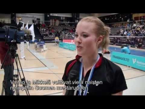 Nanna Vainio Suomen mestariksi
