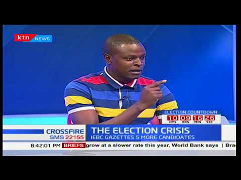 Cross Fire: Election crisis-Raila Odinga not to take part in the repeat poll