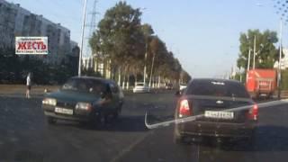 Cбили пешехода  Самара 13 08 16