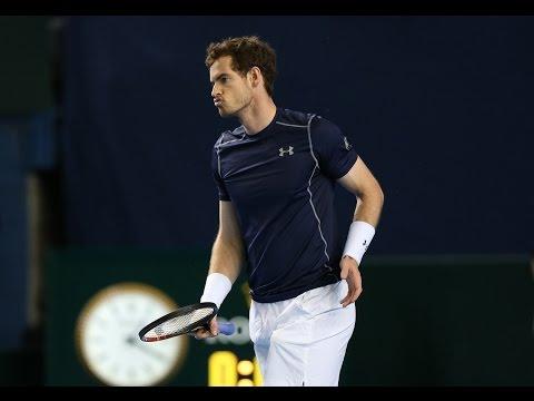 Highlights: Andy Murray (GBR) v Taro Daniel (JPN)