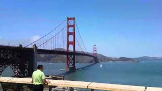 Golden Gate Bike Ride Stop 16-MAY-2015
