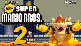 New Super Mario Bros. DS : Let's Play New Super Mario Bros. DS Part 2: Bowser als Boss?!