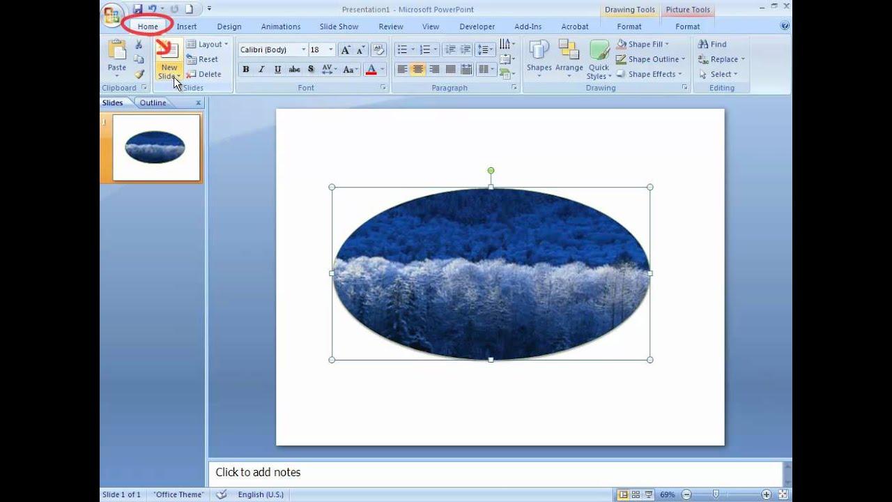 Shapes and SmartArt in Powerpoint