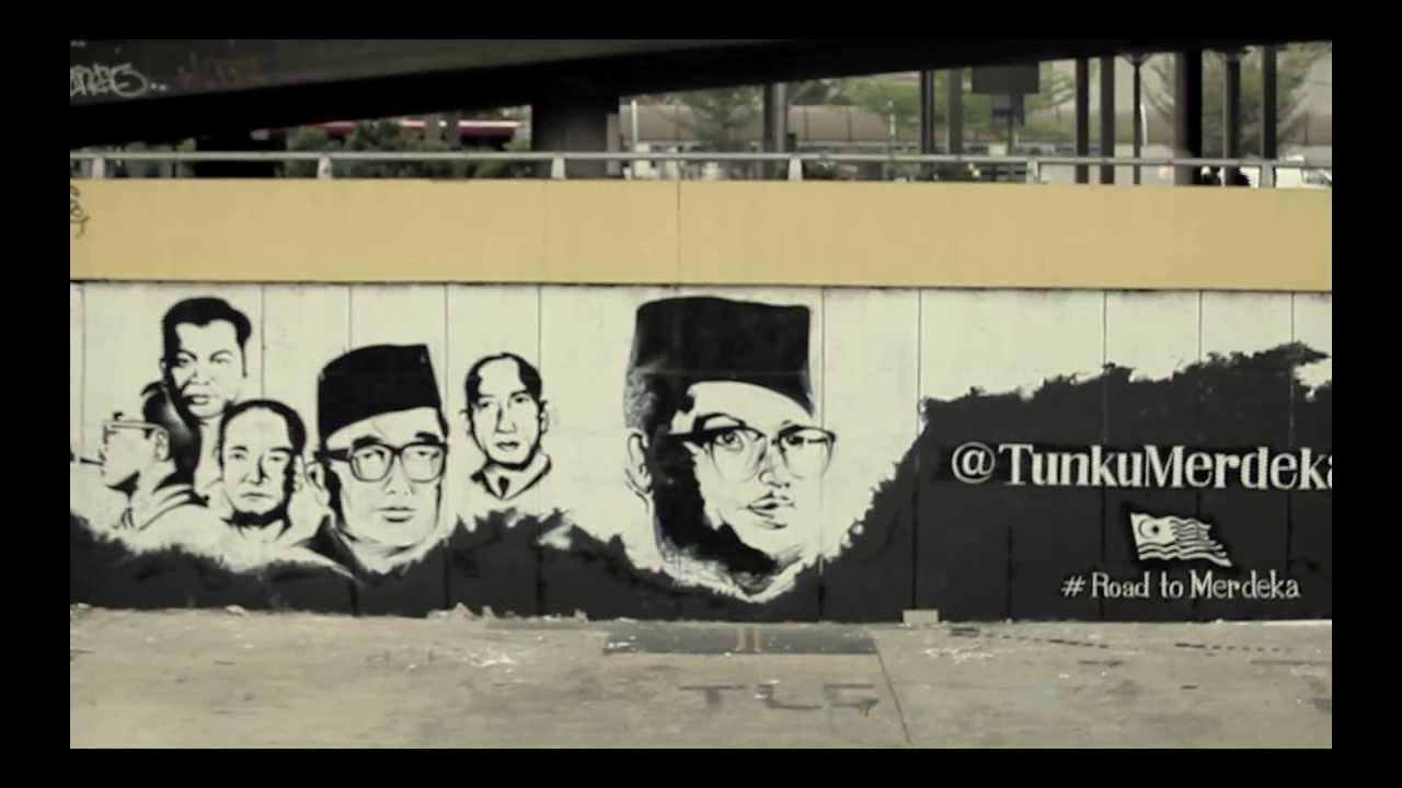The Road To Merdeka Graffiti