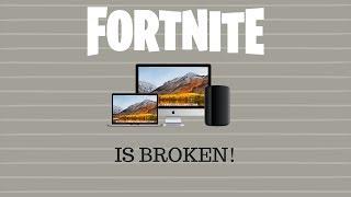 Fortnite MAC Bug (Warum ich Fortnite nicht hochgeladen habe)