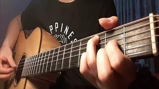[ Khắc Việt ] Yêu nhầm người | Guitar cover ( Hợp âm dưới mô tả)