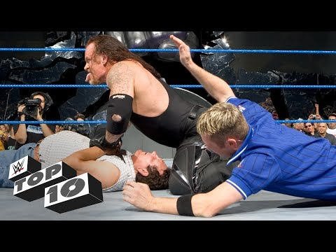Thumbnail: Superstars beat up rival's parents: WWE Top 10