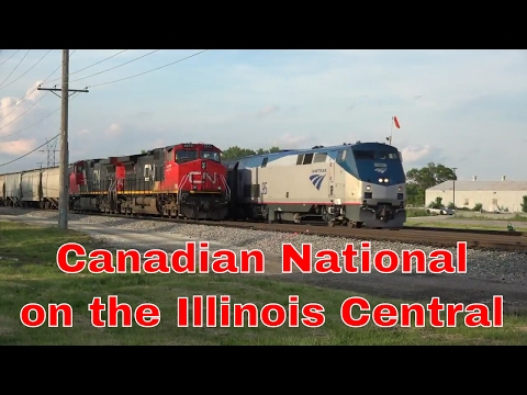 Canadian National on the Illinois Central