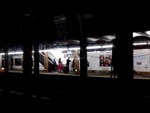 MTA,  New York Subway N train, Queens-Manhattan-Brooklyn