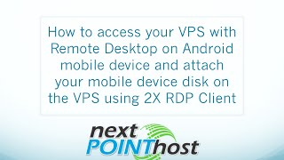 How to access your Forex VPS with Remote Desktop through your Android mobile device