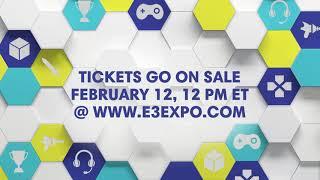 e3 2018 tickets on sale feb 12