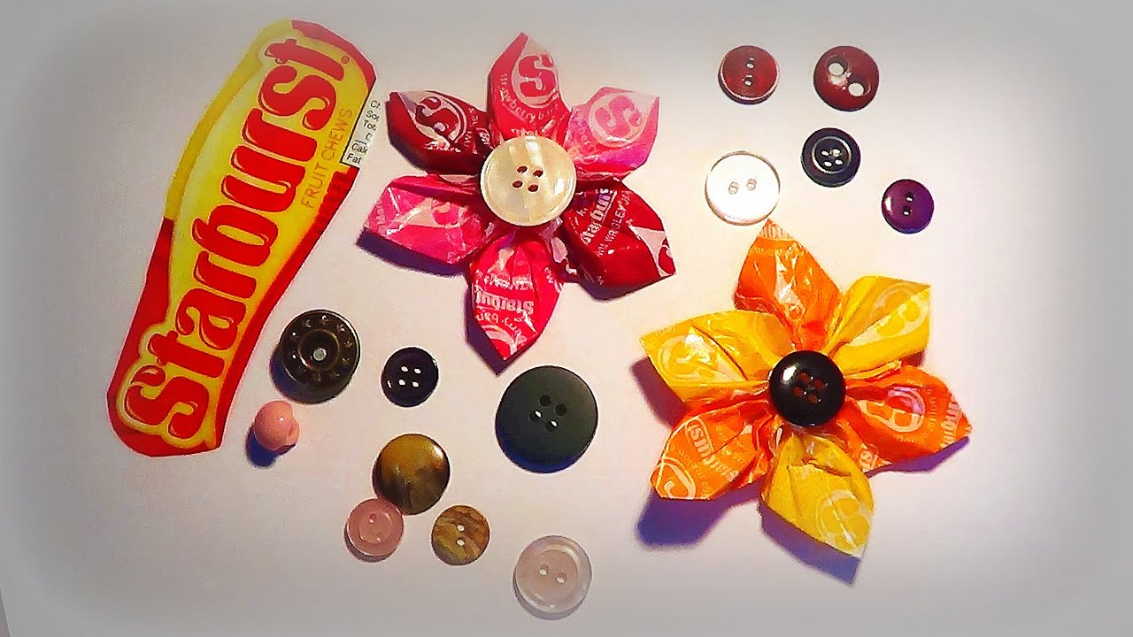Candy Wrapper Jewelry Crafts
