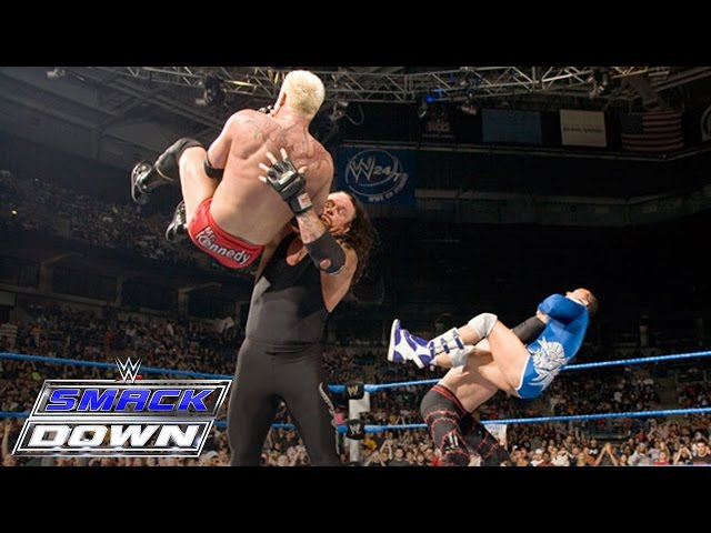 FULL-LENGTH MATCH - SmackDown - The Undertaker & Kane vs. Mr. Kennedy & MVP Travel Video